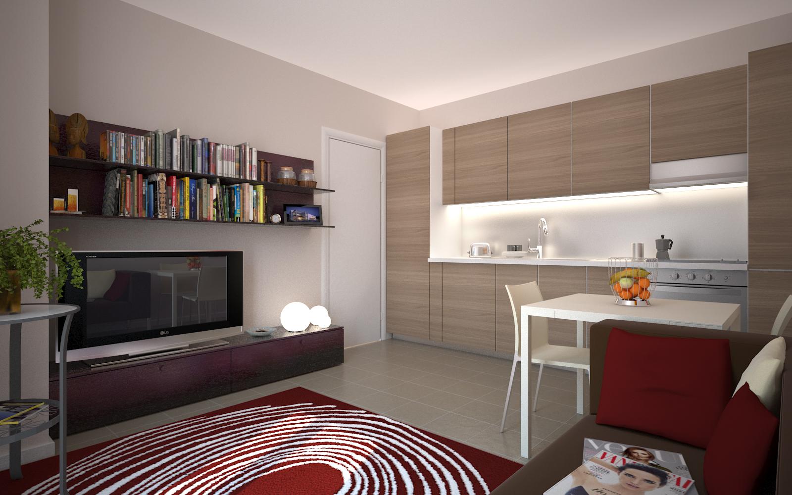 Residenza arcimboldi appartamenti in bicocca bilocali for Foto appartamenti moderni